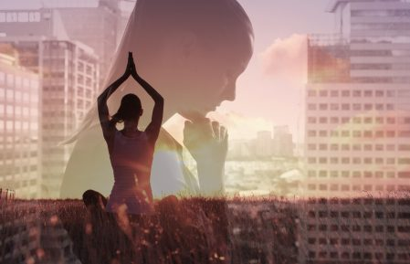Meditation, healthy mind and body, stress management