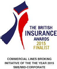 The British Insurance awards finalist 2015