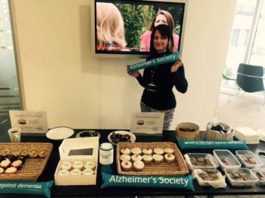Alzheimers Society bake off