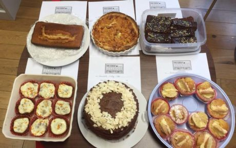 Brunel bake off for charity